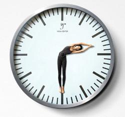 yoga-clock